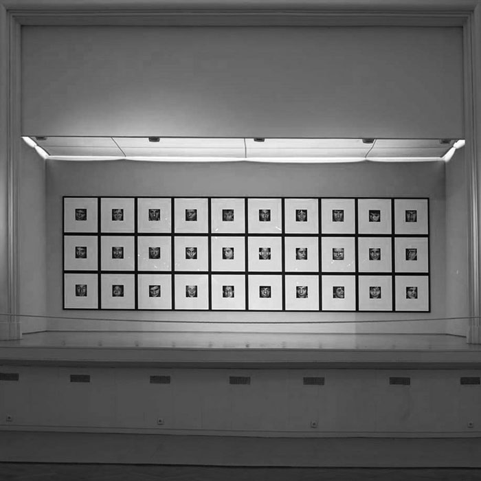30 faces (aliénés), 1990-93.